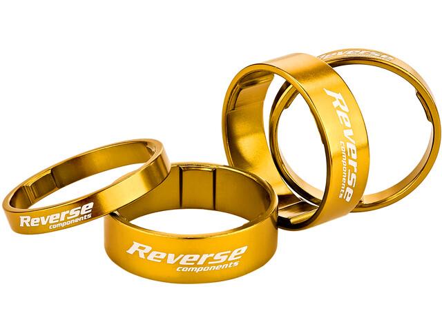 Reverse Ultra Light Spacer Set gold